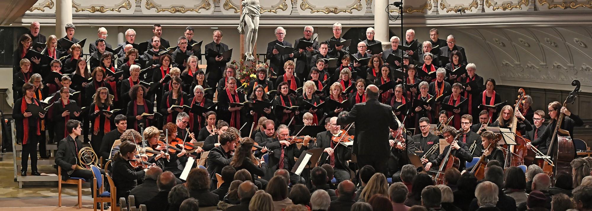 Mozarts Messe c-moll mit der Kantorei der Dreifaltigkeitskirche