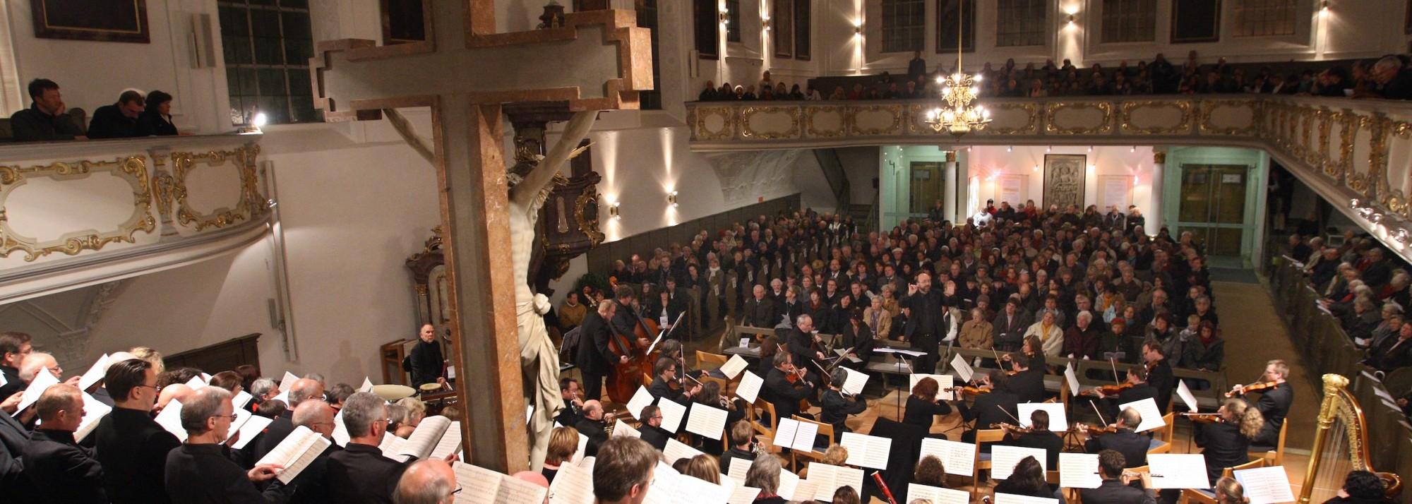 Chor-und Orchesterkonzert mit der Kantorei